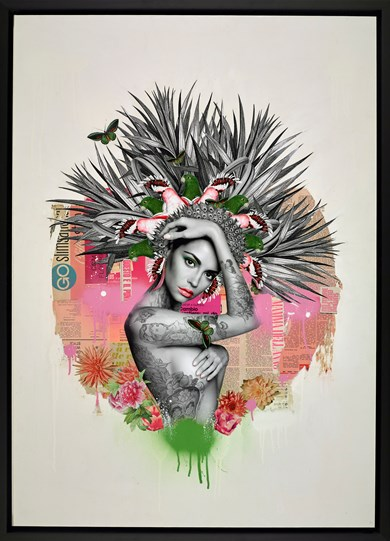 Rena De La Selva by Matt Herring - Original
